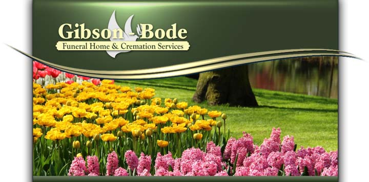 Gibson - Bode Funeral Home & Cremation Services, Ltd. - Port Byron, IL - Thumb 1